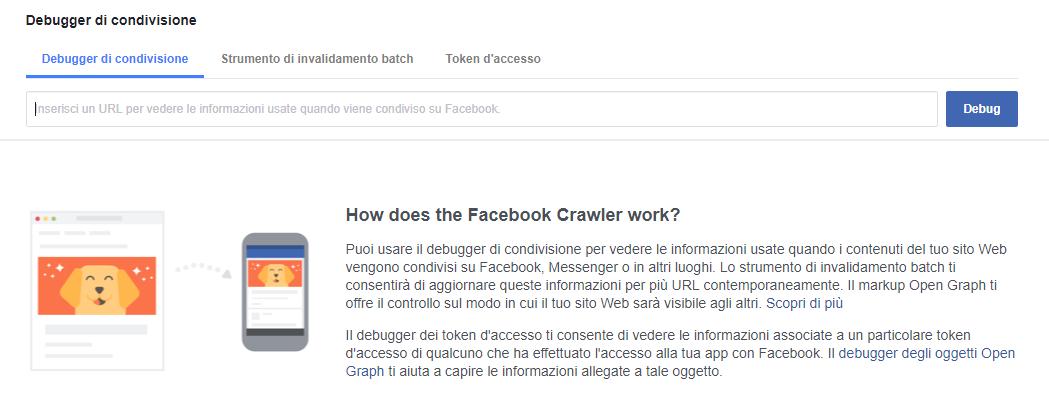 cache di facebook